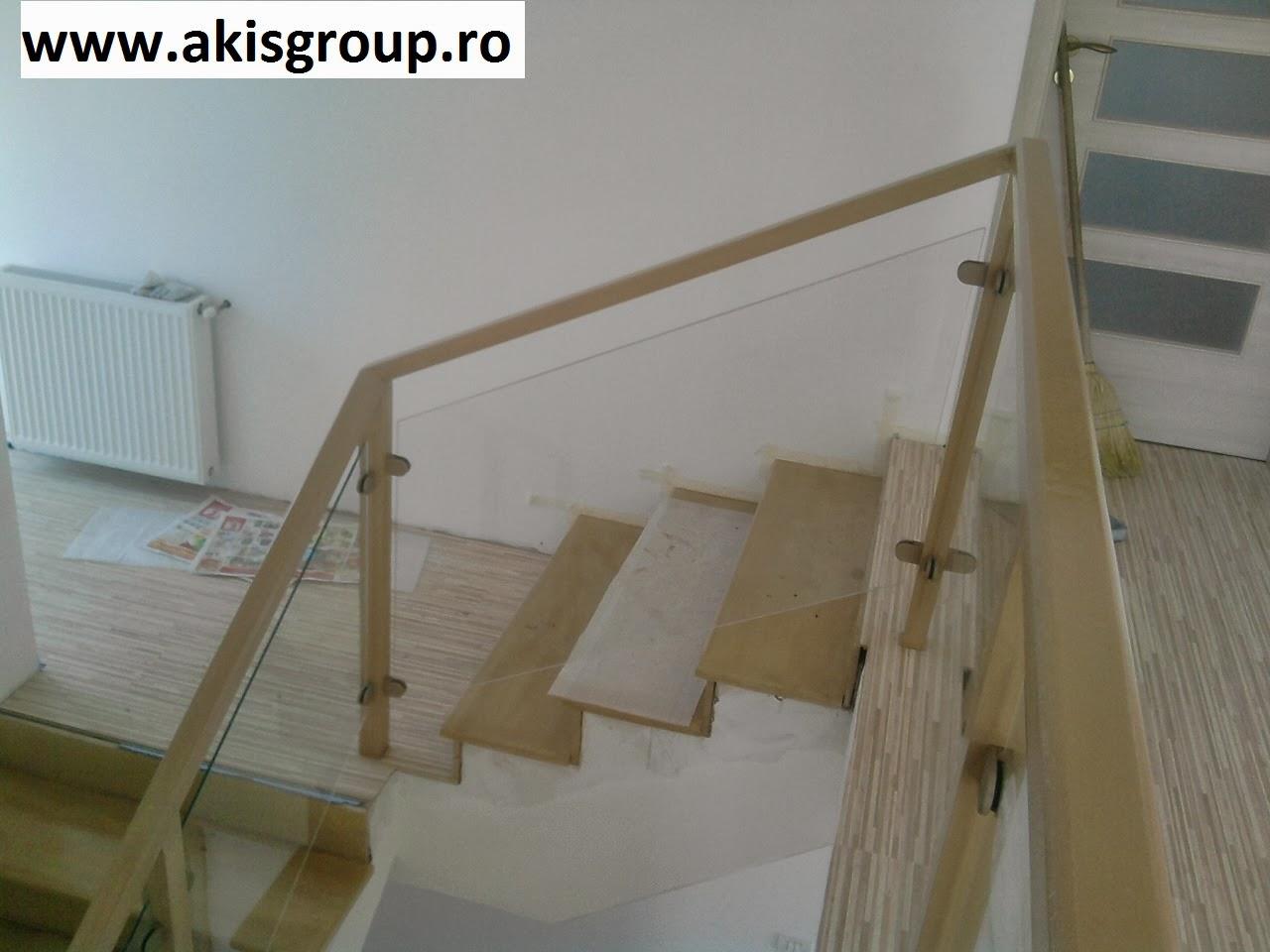 treppengel nder innen holz und glas. Black Bedroom Furniture Sets. Home Design Ideas
