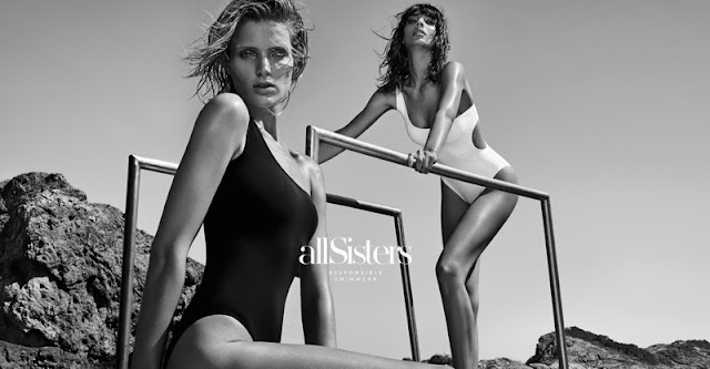 Fanny François and Sabrina Nait Pose for allSisters Swimwear Campaign 2015
