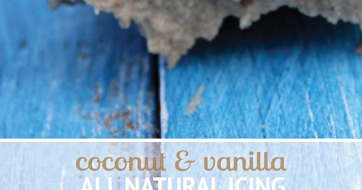 Bona Food Coconut Amp Vanilla Icing