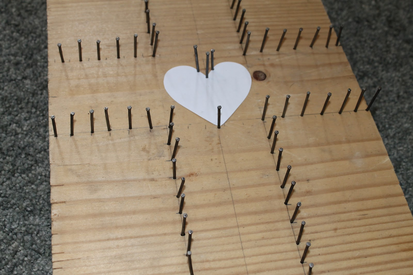 lenten nail and string art do small things with great love. Black Bedroom Furniture Sets. Home Design Ideas