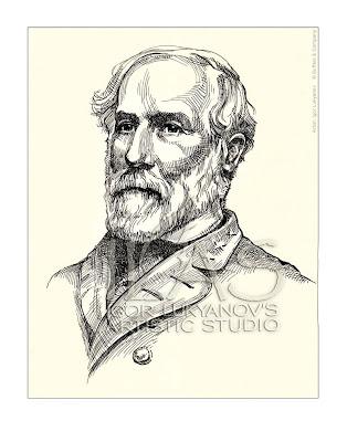 portrait général Robert E. Lee