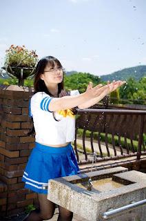 Lucky Star Takara Miyuki Seifuku Cosplay by Namachoko