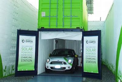 Солнечная станция зарядки для электромобилей Beautiful Earth Group solar EV Charger