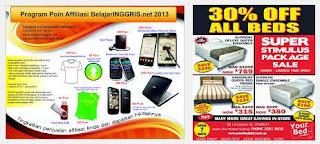 contoh iklan elektronik bahasa inggris