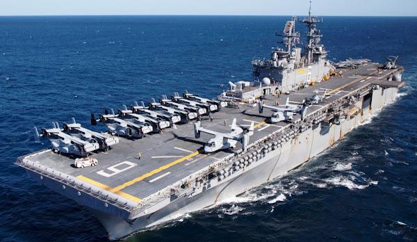 USS Bonhomme Richard (LHD 6). PROKIMAL ONLINE Kotabumi Lampung Utara