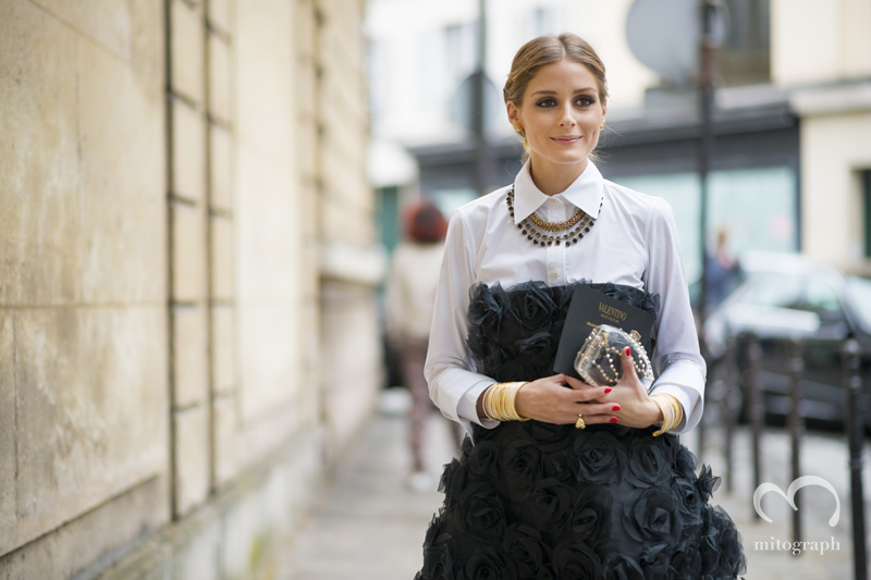 mitograph Olivia Parelmo Before Valentino Paris Haute Couture Fashion Week 2013 Fall PFW Street Style Shimpei Mito