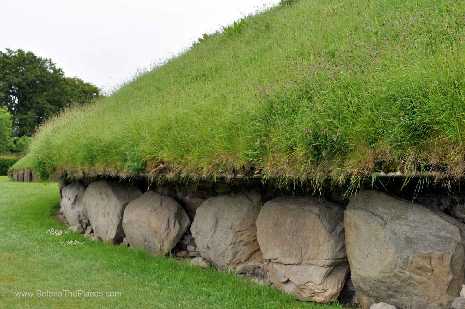 The Great Mound at Knowth, Ireland