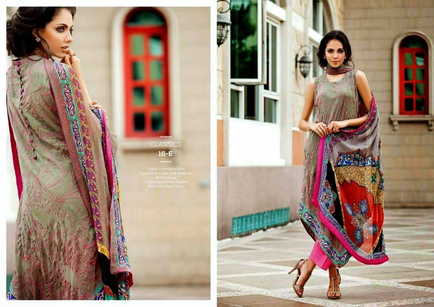 Resham Ghar Eid Chiffon Collection-14