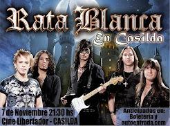 "RATA BLANCA EN EL ""CINE LIBERTADOR"" - 07/11/2014"