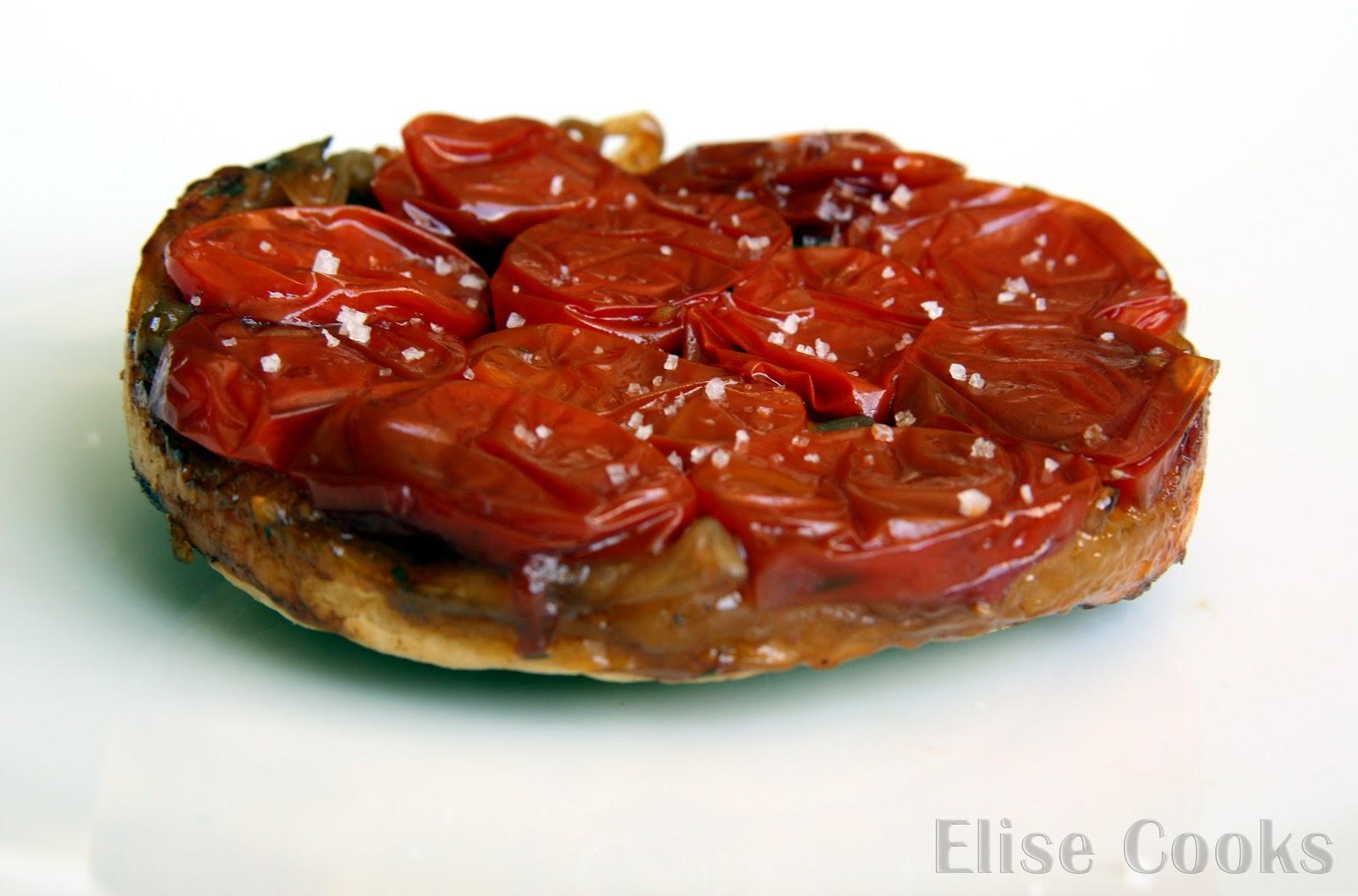 tarte tatin aux tomates cerises elise cooks. Black Bedroom Furniture Sets. Home Design Ideas