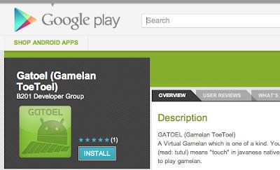 Gamelan Toetoel,