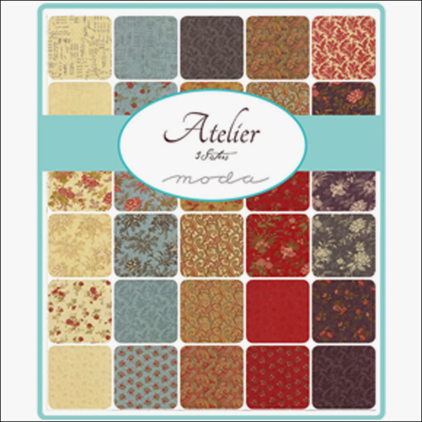 Moda ATELIER Quilt Fabric by 3 Sisters for Moda Fabrics