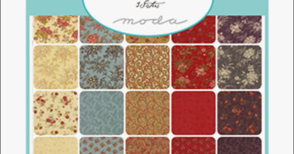 Crazy Quilt Girl Fabric Shop Moda Atelier Fabric