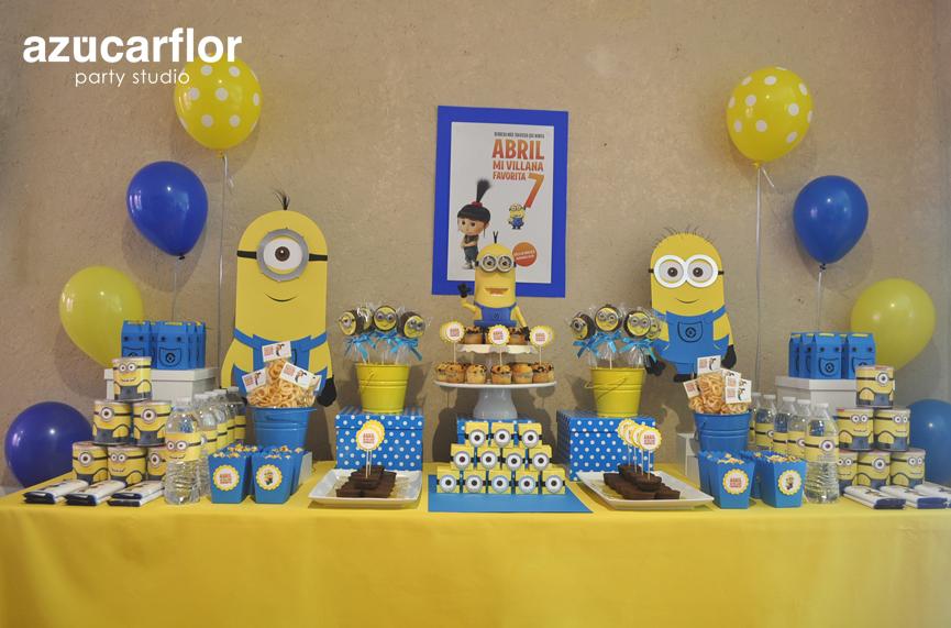 Minions Decoracion Para Fiestas ~ mas tutorial mochilita decoraciones dulceros 01 otro mas y decoracion