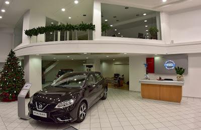 Νέα έκθεση αυτοκινήτων Nissan στην Καλλιθέα