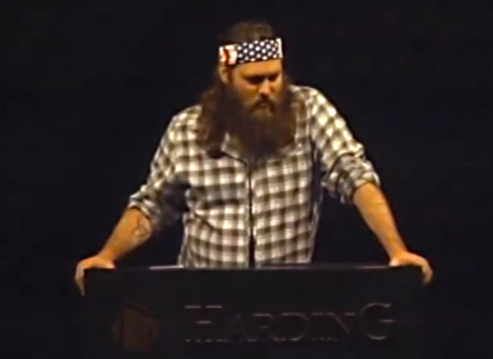 God'sBigShow: Duck Dynasty Star Willie Robertson Talks About Fame And