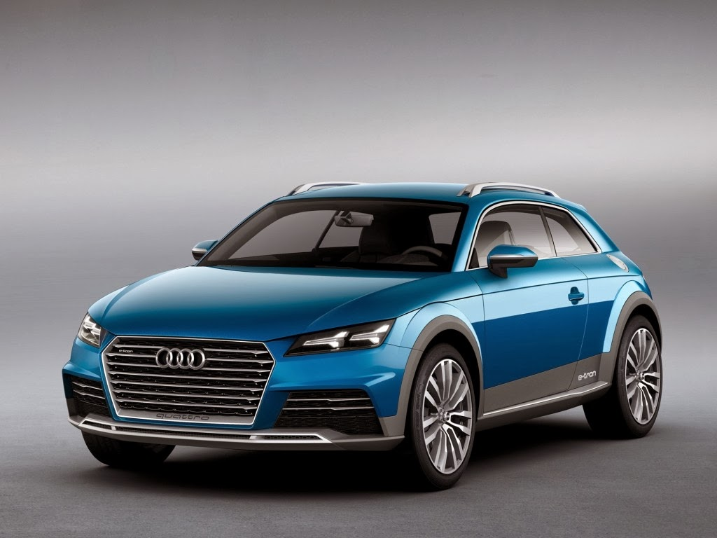 Audi E Tron Allroad 400 HP Plug In Hybrid Concept Officially Revealed