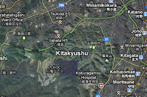 My Current Area-Sam is in the Fukuoka Zone, Kitakyushu Area