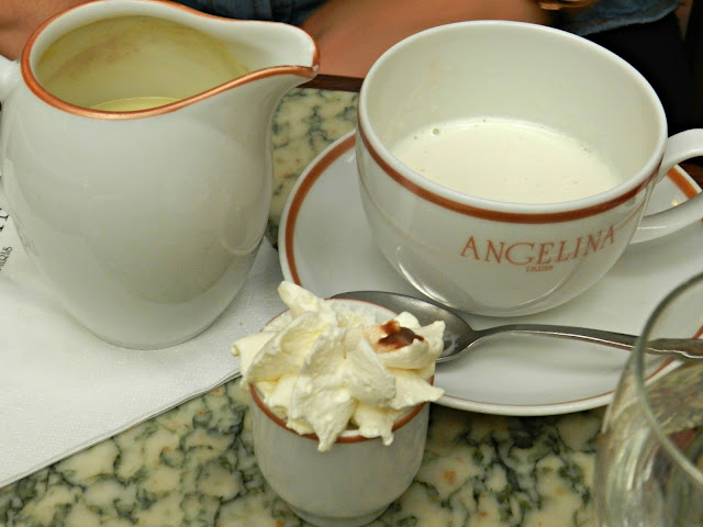 Angelina's hot chocolate