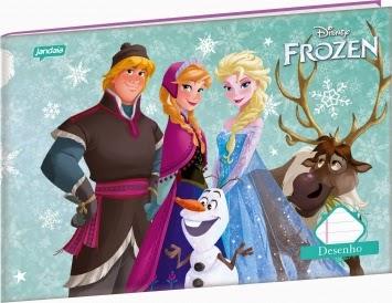 Novos Cadernos Jandaia filme Frozen