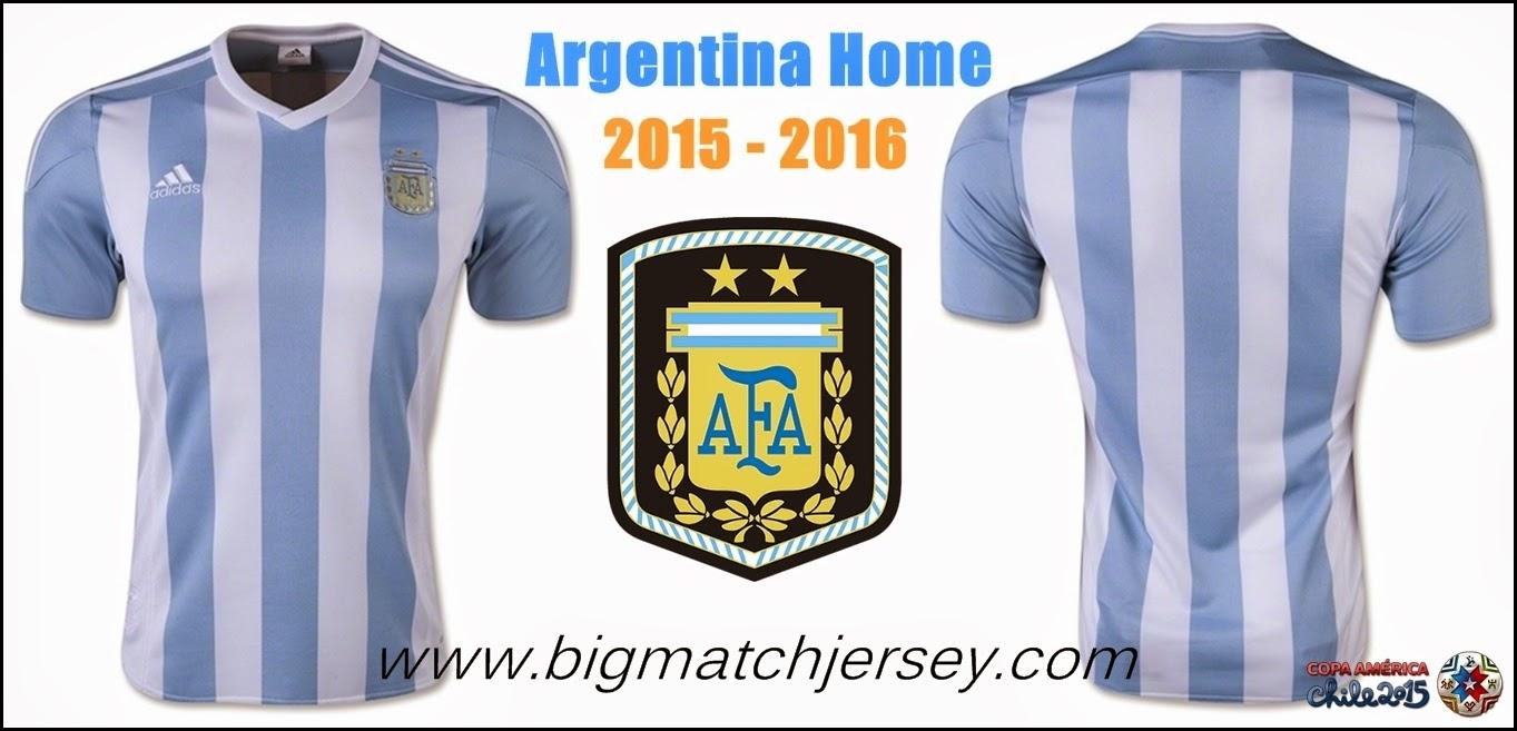 Toko Online Jual Jersey Bola Origininal Argentina Home 2015