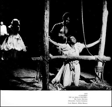 CANARIO DE LA MALA NOCHE, de Larry Herrera, dirección Carlos Giménez