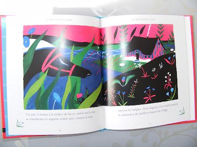 LE MONSTRE DU LOCH (CONTE ÉCOSSAIS) illustrée par Louise Pianetti-Voarick DSCF1745
