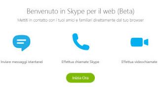 skype sito web