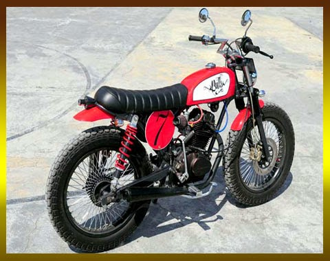 Modifikasi Honda CB 100 Chopper