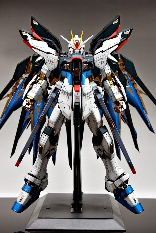 """PG 1/60 Strike Freedom Gundam """"Full Color"""" - Custom Build ..."""