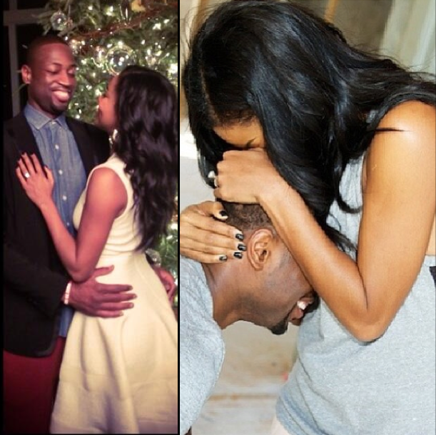 Dwyane Wade Had an Eventful 2013. From The Birth of His Son Xavier to His Recent Engagement to His Longtime Girlfriend Gabrielle Union.