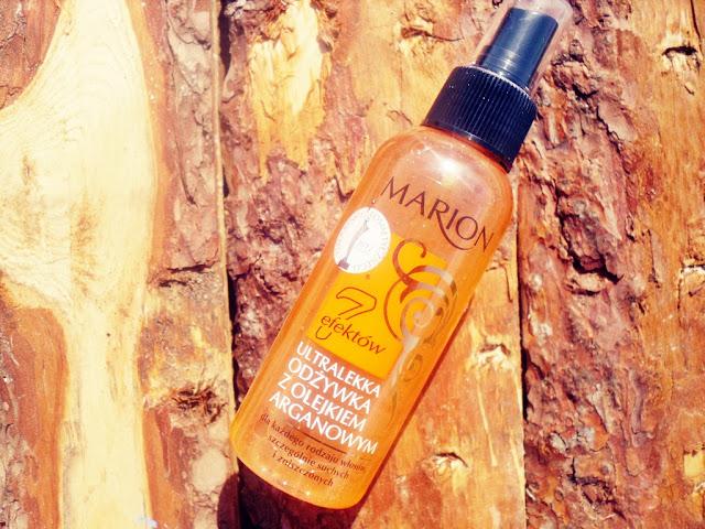 Marion, ultralekka odżywka z olejkiem arganowym ( 7 efektów)
