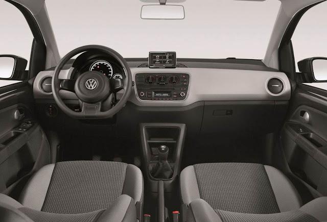 Volkswagen up! 2015 - interior