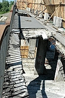 Киев,мост,Гидропарк,Днепр,авто,провал,забор, фото,картинки Google