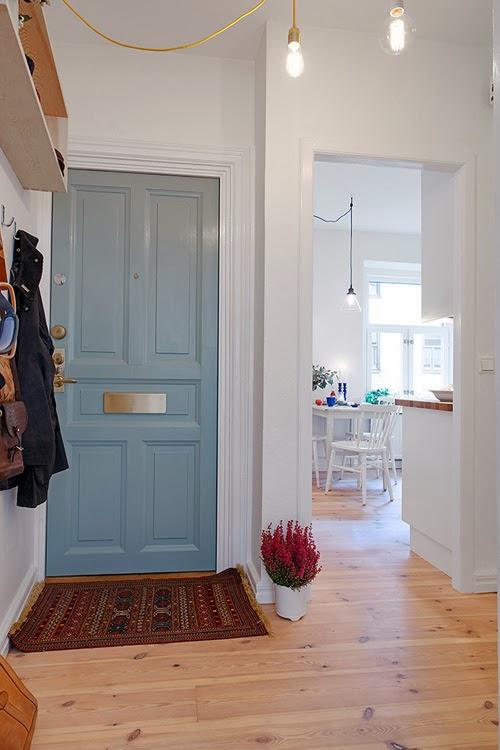Casas con estilo. #10 Un gran minipiso de estilo escandinavo.