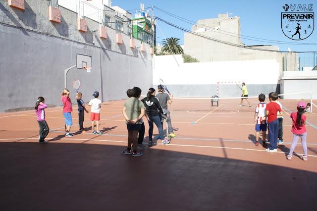 entrenamiento tenis niños
