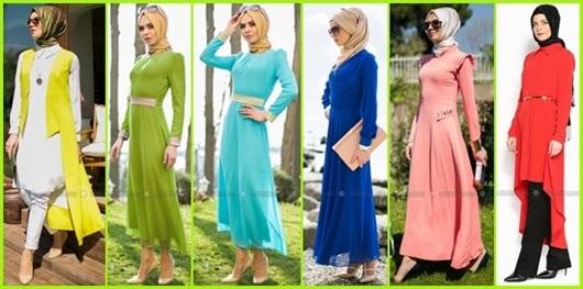 Tesettür Giyim Moda Renk Trendleri