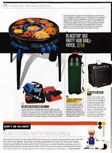 Blacktop 360 Party Hub in Popular Mechanics