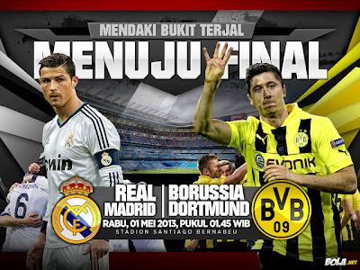 Semifinal Liga Champions Leg 2 2013