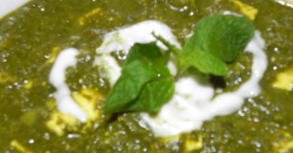 Sachi S Kitchen Palak Paneer Spinach Cottage Cheese Recipe