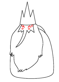 How To Draw Ice King Adventure Time Step 4
