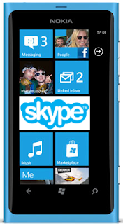 skype using mobile camera in lumia