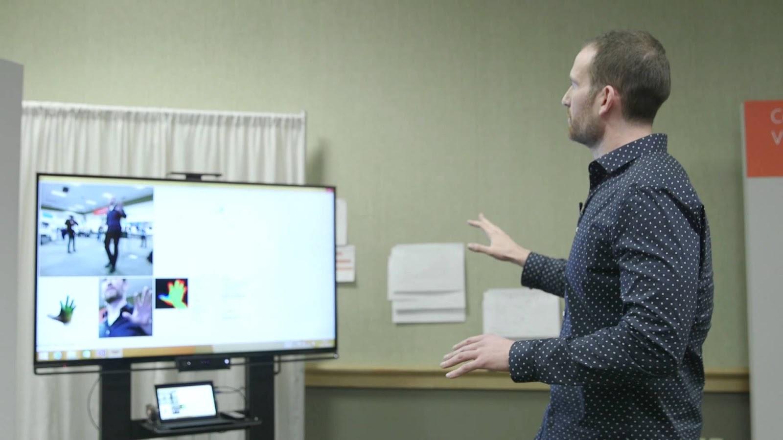 Microsoft mostra nova tecnologia de controle por gestos