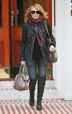 Kylie Minogue Fashion Scarves