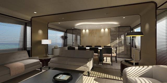 Un nuovo raised pilot house per il brand azimut yachts