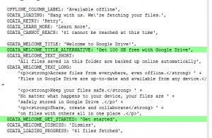 Google Offer Cloud Storage 100GB