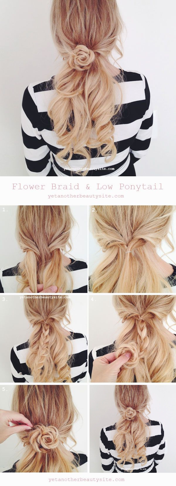 Braided Flower Hairstyle