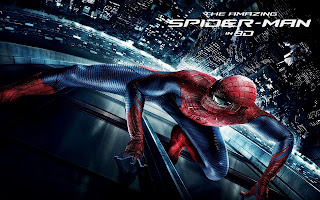 The Amazing Spider-Man on Glass of Skyscaper HD Movie Wallpaper