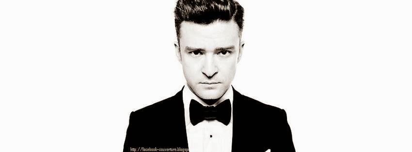 Belle couverture facebook Justin Timberlake