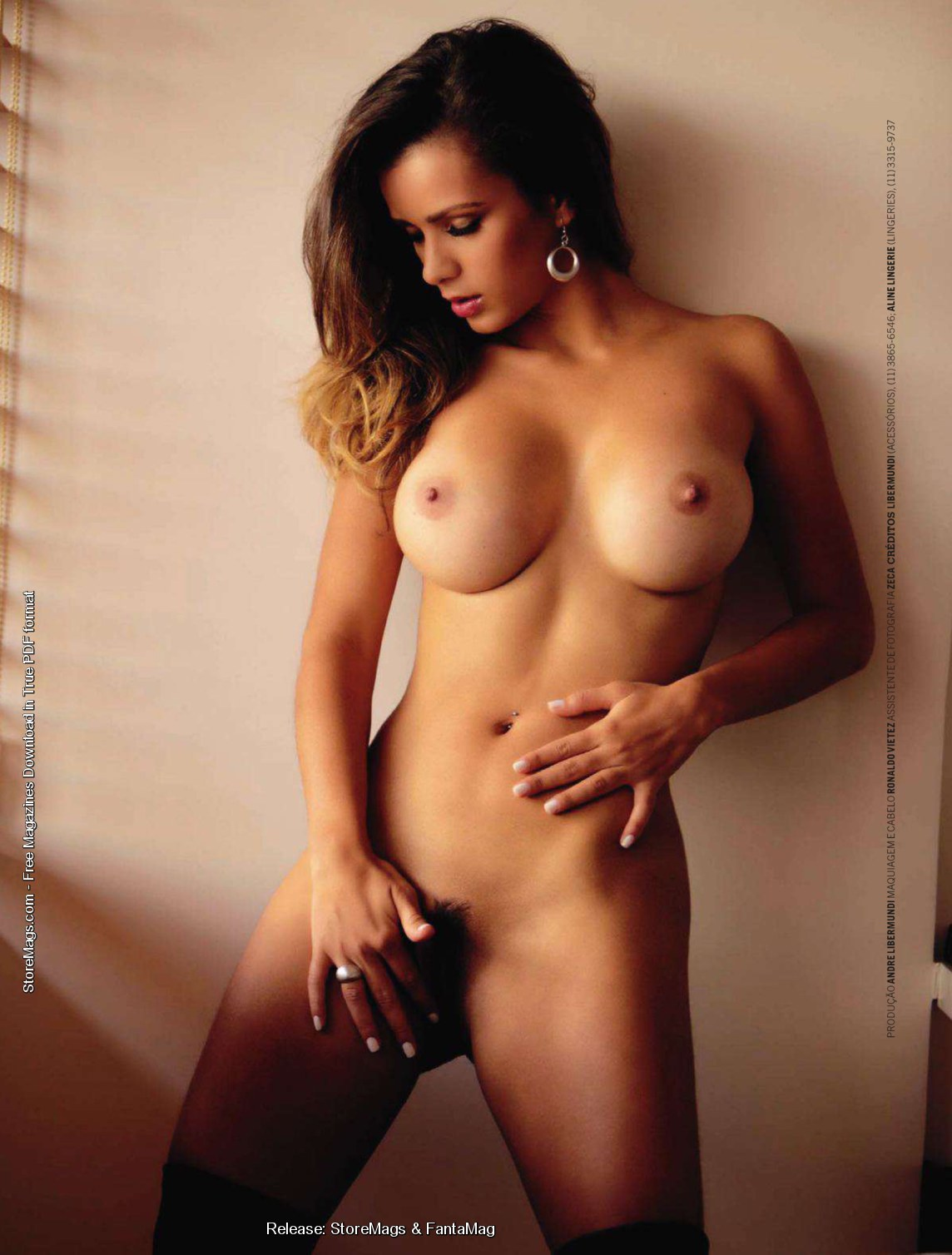 playboy naked Brazilian models